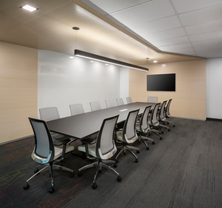Artopex Take Off Conference table and Blitz chairs  - AMP