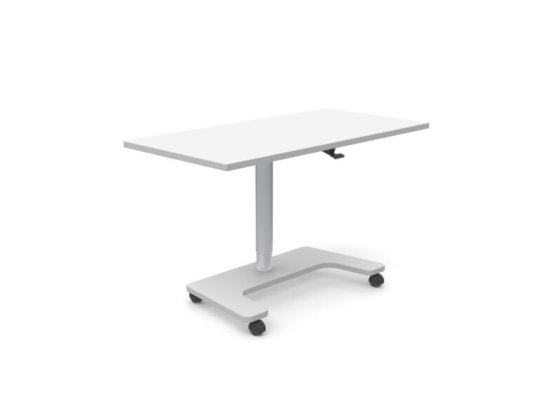 Artopex Home Office Blanc Argent White Silver