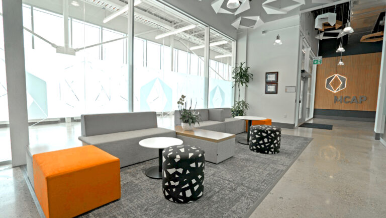 Artopex Mayhew - Element modules, Take Off Conference round tables and Downtown furniture