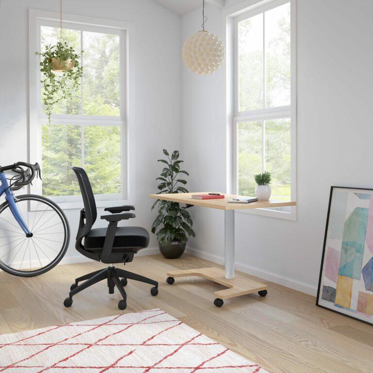 Artopex Millie desk Auxi chair