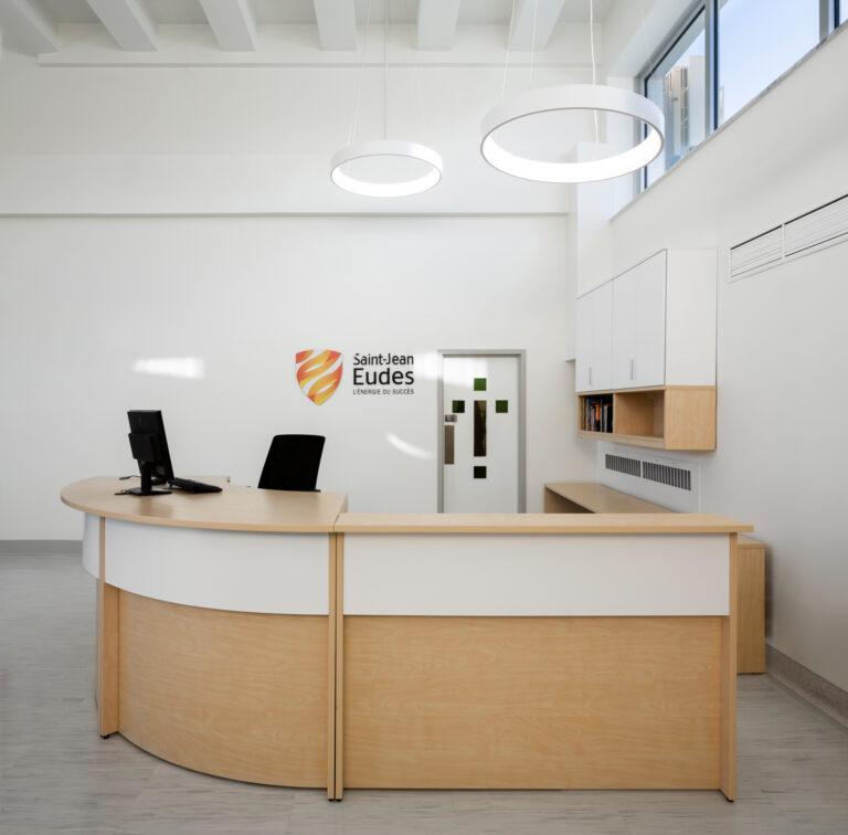 Artopex Saint Jean Eudes Bibliothèque - Réception