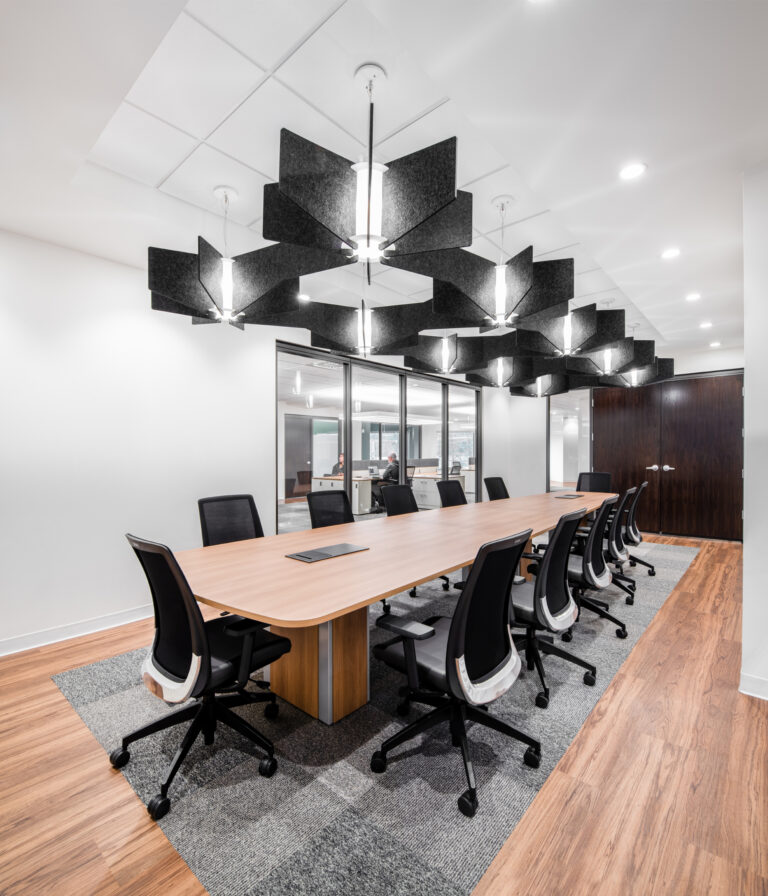 Artopex Take Off Conference table and Blitz chairs - Cascades 1