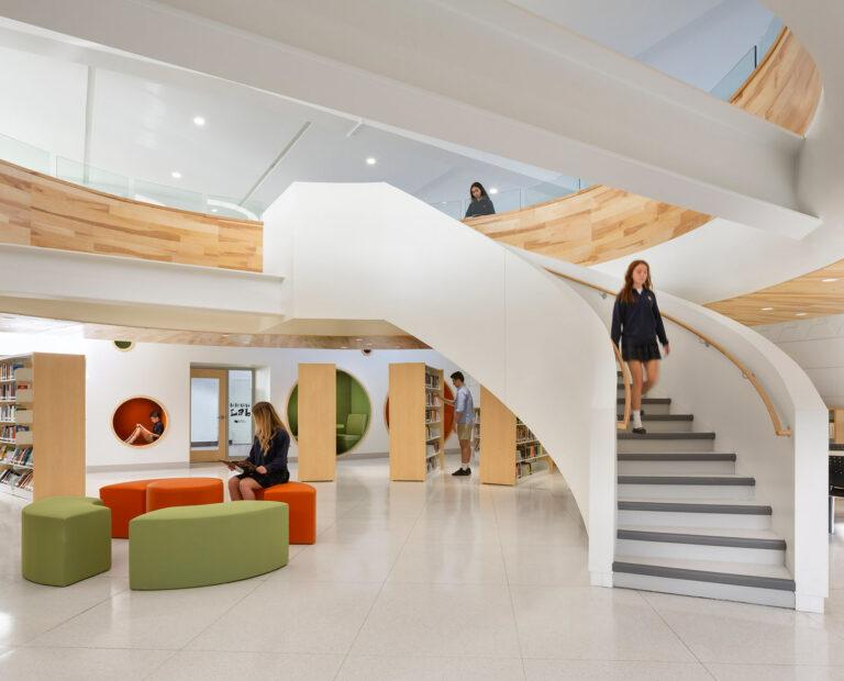 Artopex Saint Jean Eudes Library - Downtown Lounge