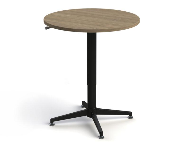 Artopex Adjustable Meeting Tables - Round - Dalia_Black 1920X0