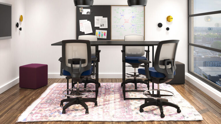 "Artopex Take Off Conference table Take and Auxi chairs - Bases ""Cage"""
