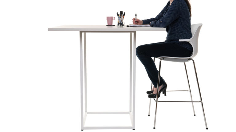 "Bistro Table - ""Cage"" base - Frill"